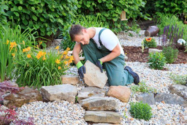 Gartengestaltung-Modern